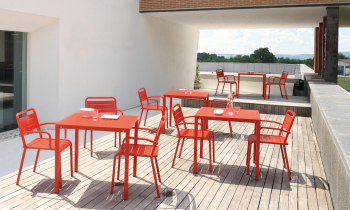 Emu designové zahradní stoly Star Rectangular Table
