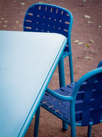 Emu designové zahradní stoly Yard Rectangular Table