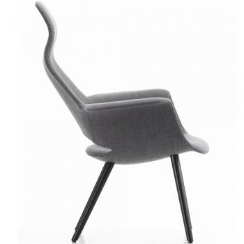 VITRA židle Organic Chair Highback