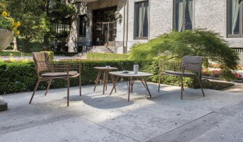 Emu designové zahradní židle Lyze Armchair