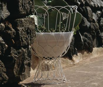 Emu designové zahradní květináče Re-Trouvé Short Vase