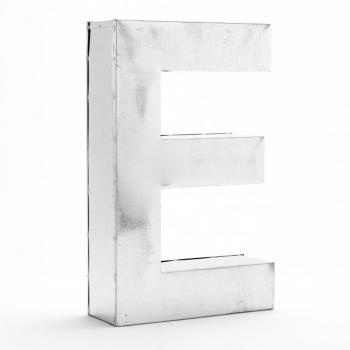 """Výprodej Seletti designová nástěnná písmena Metalvetica """"C"""""""
