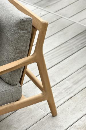 Ethnicraft designové zahradní sedačky Teak Jack Sofa (šířka 180 cm)
