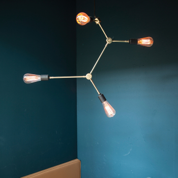 Menu designová závěsná svítidla Franklin Chandelier