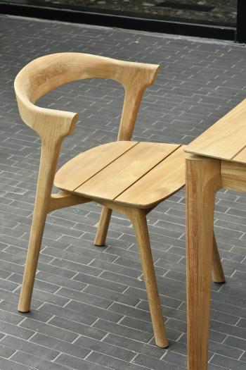Ethnicraft designové zahradní židle Teak Bok Outdoor Dining Chair