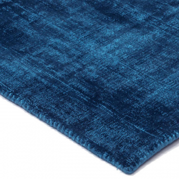 Výprodej Kymo designové koberce Mark 2 Viscose (200 x 300 cm, tmavě modrá)