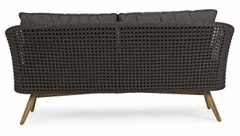 Pop up Home designové sedačky Ninfa Dark Sofa