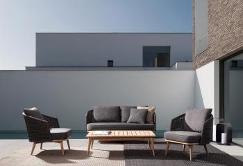 Pop up Home designová křesla Ninfa Dark Armchair