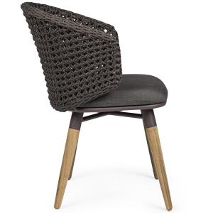 Pop up Home designové židle Ninfa Dark Chair