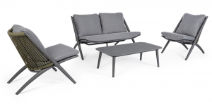 Pop up Home designové sedačky Aloha Charcoal Sofa
