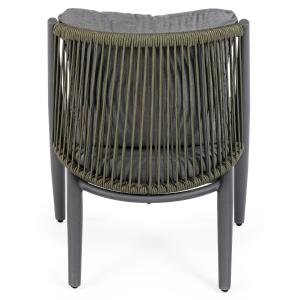 Pop up Home designová křesla Aloha Charcoal Armchair