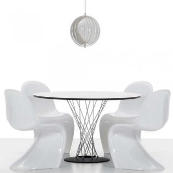 Vitra designové jídelní stoly Dining Table (průměr 90 cm)