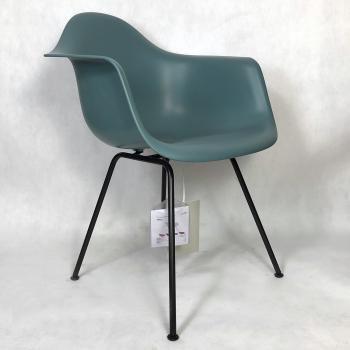 Výprodej Vitra designové židle/ konferenční židle DAX (šedomodrá skořepina/ černá podnož)