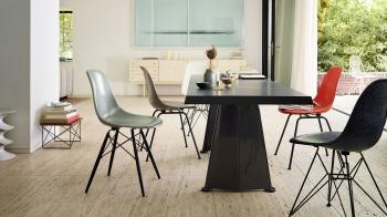 Výprodej Vitra designové židle DSW (šedá granitová)