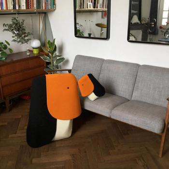 EO designové dětské sedací vaky Panda Large