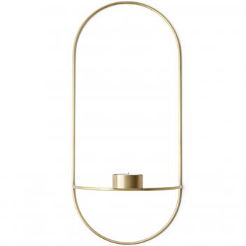Menu designové nástěnné svícny POV Oval Tealight Candle Holder