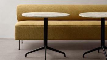 Menu designové jídelní stoly Harbour Column Dining Table Star Base (průměr 60 cm)