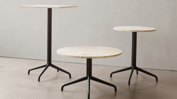 Menu designové kavárenské stoly Harbour Column Counter/Bar Table Star Base (průměr 60 cm)