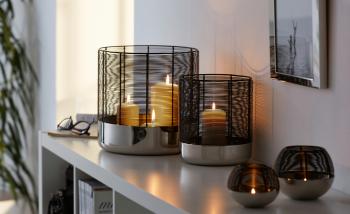 Philippi designové svícny Luna Candleholder S