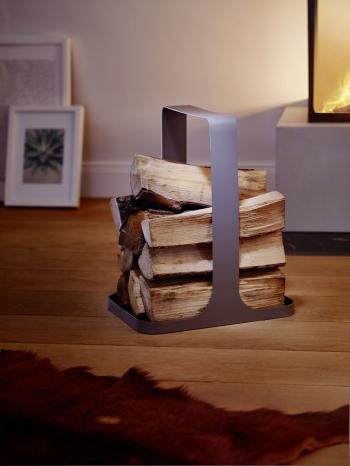 Philippi designové koše na dřevo Log Wood Tray