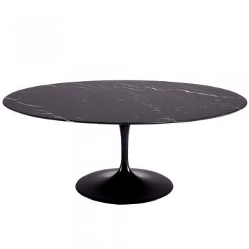 KNOLL jídelní stoly Tulip Table oválné (198 x 74 x 121 cm)