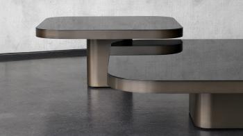 Classicon designové konferenční stoly Bow Coffee Table (70 x 70 x 19 cm)