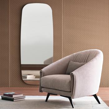 Bonaldo designová zrcadla Lake (šířka 72 cm)