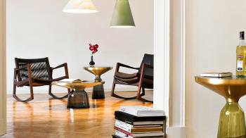 Classicon designová houpací křesla Euvira Rocking Chair