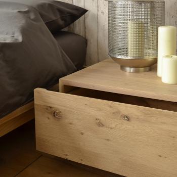 Výprodej Ethnicraft designové noční stolky Madra Bedside Table