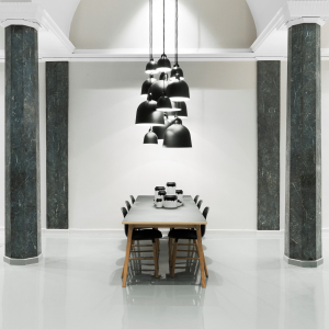Výprodej Normann Copenhagen designové závěsná svítidla Bell Lamp XSmall (šedá)