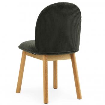Výprodej Normann Copenhagen designové židle Ace Chair (zelenohnědý manšestr, přírodní dub)