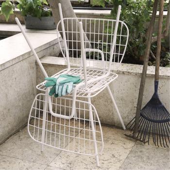 Výprodej Menu designové židle WM String Dining Chair (bílá)