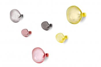 Výprodej Petite Friture designové nástěnné věšáky Bubble S (červená)
