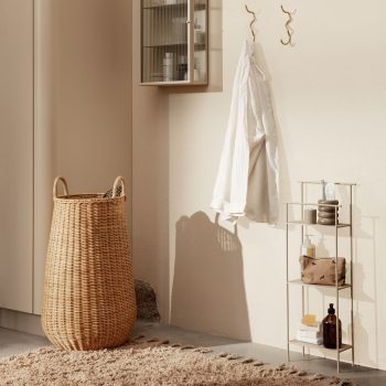 Výprodej Ferm Living designové koše na prádlo Braided Laundry Basket