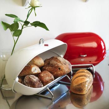 Výprodej Wesco designové chlebníky Breadboy (růžová)
