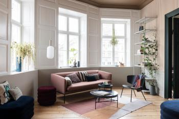 Výprodej Ferm Living designové koberce Kelim Rug Earth (200 x 140 cm)