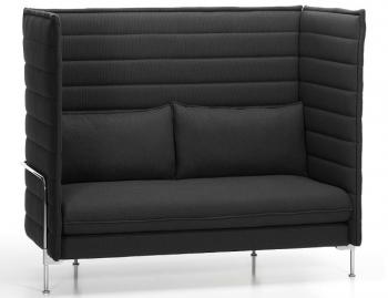 Vitra designové sedačky Alcove Sofa Loveseat Highback (šířka 126 cm)