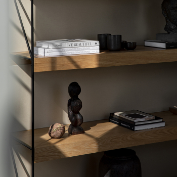Menu designové knihovny Zet Storage System (výška 70 cm)