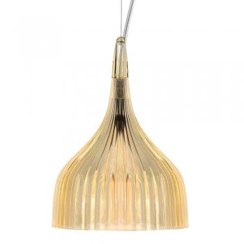 Výprodej Kartell designová závěsná svítidla É (žlutá transparentní)