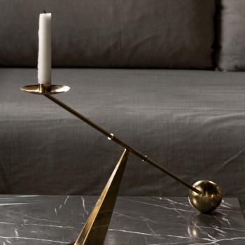 Menu designové svícny Interconnect Candle Holder