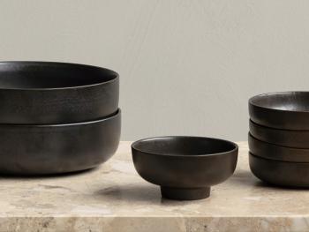 Menu designové mísy New Norm Dinnerware Footed Bowl