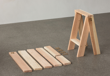 Menu designové stoličky Ishinomaki AA Stool (výška 56 cm) (2 kusy)