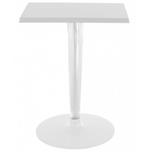 Kartell designové kavárenské stoly Top Top čtvercové (60 x 60 cm)