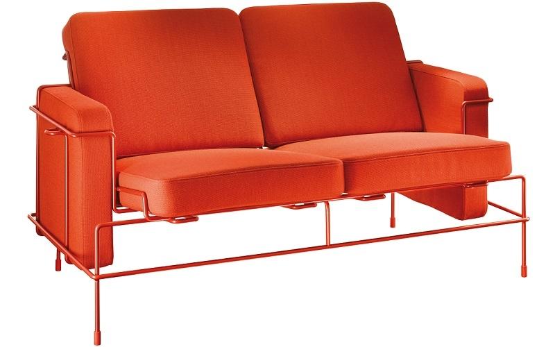 Magis designové zahradní sedačky Traffic Sofa 2 Outdoor