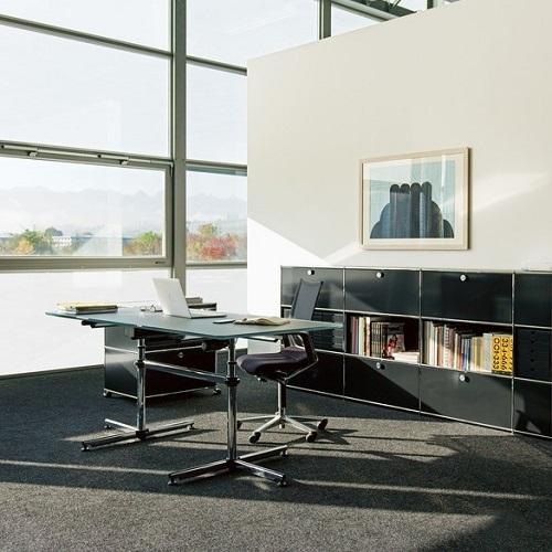 USM designové kancelářské stoly Kitos 90 x 75 cm