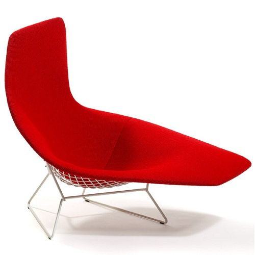 KNOLL křesla Bertoia Assymetric Chair
