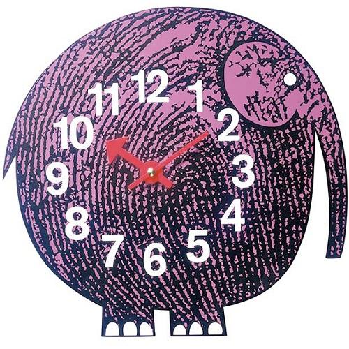 Vitra designové dětské nástěnné hodiny Elihu The Elephant