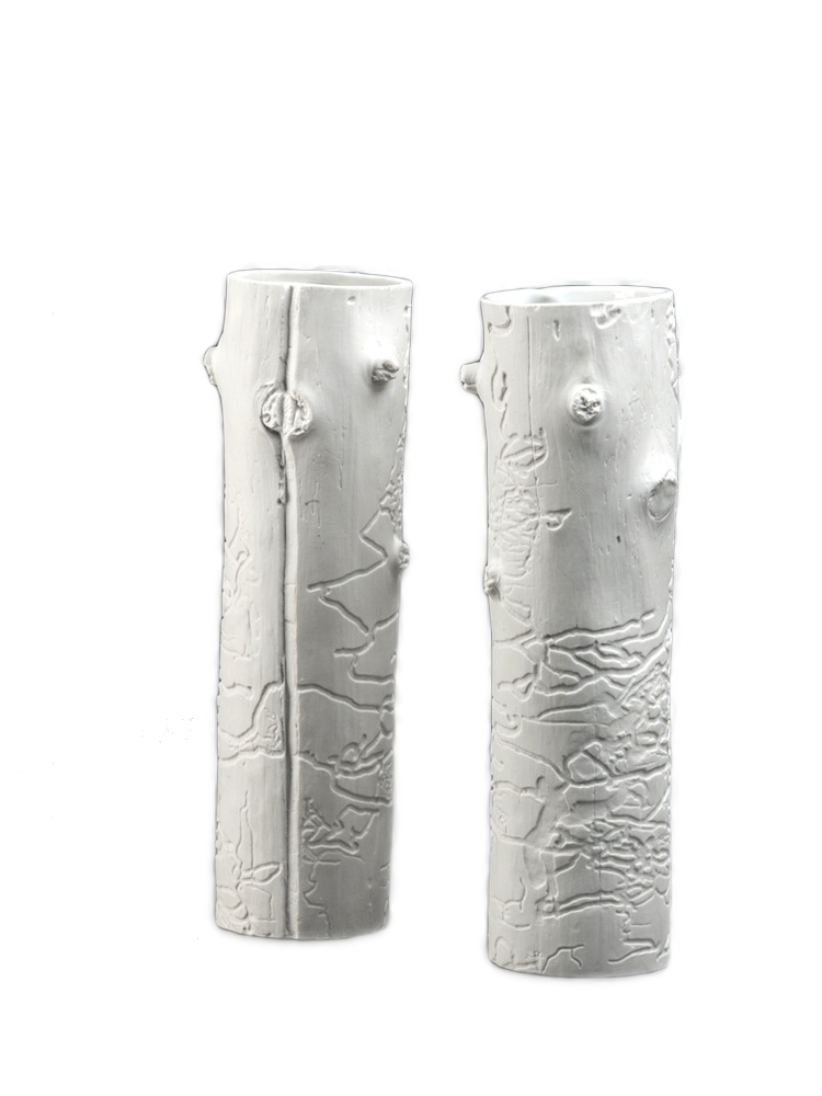 QUBUS vázy Lace Vase