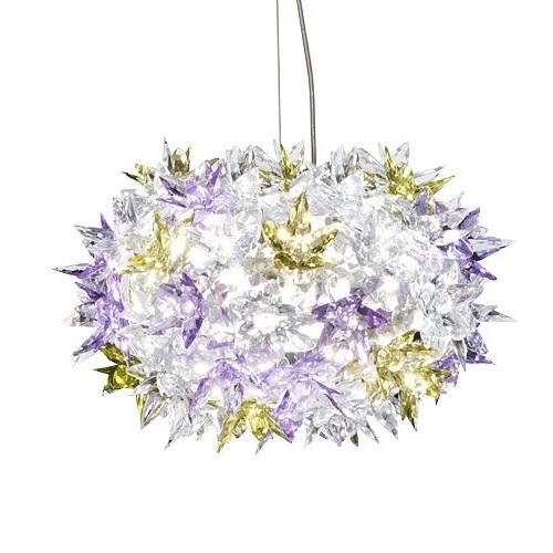 Kartell designová závěsná svítidla Bloom Round (28 x 19 cm)