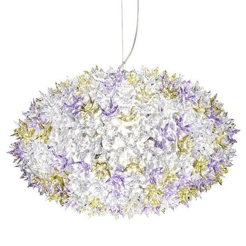 Kartell designová závěsná svítidla Bloom Round (53 x 35 cm)
